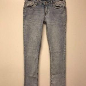 Levis 711 Skinny Jeans Womens Blue Wash Mid Rise 5